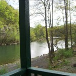 River Cabin view from porch