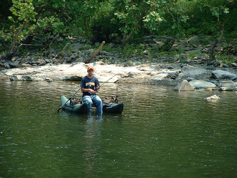 Greenbrier river campground fishing for Wv hunting and fishing license