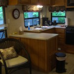 Getaway RV kitchen area