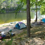Tent sites 34 and 35