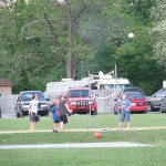 Volleyball, basketball and horseshoes
