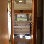 Airstream living area view