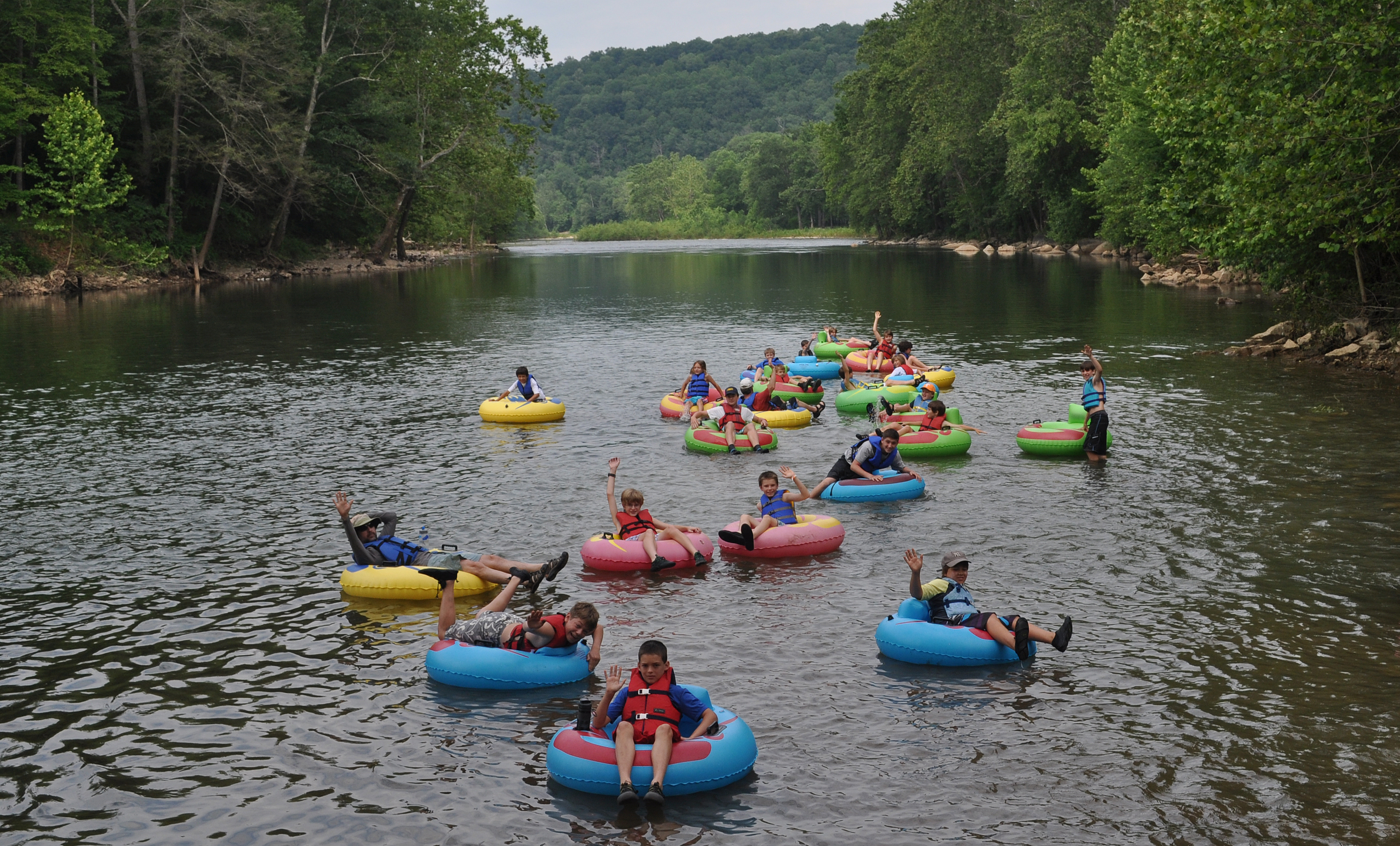 Greenbrier River Campground » River Trips